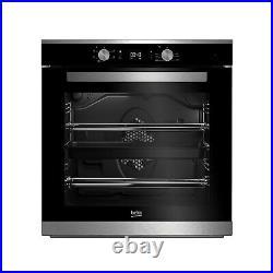 Refurbished Beko BXIF35300X 60cm Single Built In Electric Oven
