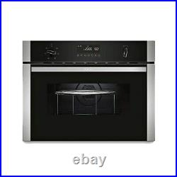 Refurbished Neff C1AMG83N0B 60cm Single Compact Built In Microwave Grill Oven