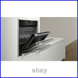 Refurbished Neff Slide&Hide N70 B47CR32N0B 60cm Single Built-in Electric Oven