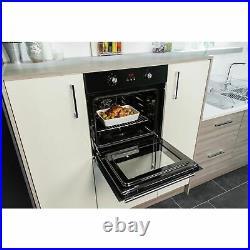 Russell Hobbs RHEO6501B Built-In 59.5cm Single Electric Oven Black