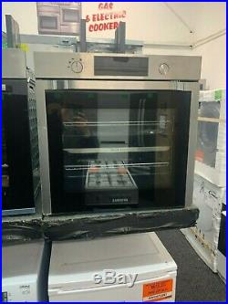 Samsung Dual Cook NV75K5571RS Built In Electric Single Oven Stainless Steel A