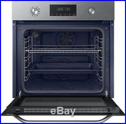 Samsung NV70K3370BS Dual Fan Built In 60cm A Electric Single Oven Stainless