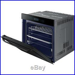 Samsung NV75R7546RB Prezio Dual Cook Built In 60cm A Electric Single Oven Black