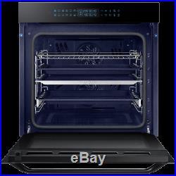 Samsung NV75R7576RB Prezio Dual Cook Built In 60cm A Electric Single Oven Black