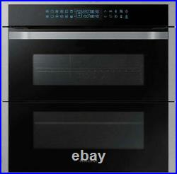 Samsung NV75R7676RS/EU Dual Cook Flex Pyrolytic Built-in Single Oven Silver