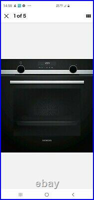 Siemens HB578A0S6B Built-In Smart Single Electric Oven in Stainless Steel New