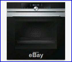 Siemens HB632GBS1B IQ-700 60cm Built-in Electric Single Oven Stainless Steel