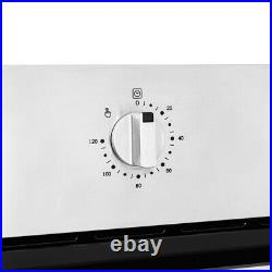 Single Electric Fan Oven Stainless Steel Kitchen Multifunctional Built-in Oven
