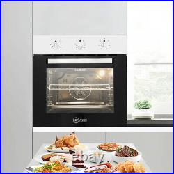 Single Rack Electric Oven Built-in withPlug Fitted MAX. 2200W 60cm 50-250 Timer