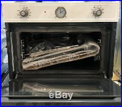 Smeg SF4750VCBS Cortina Built In Single Cavity Steam Oven White (CK1236)