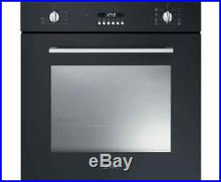 Smeg SF478N Cucina Built In 60cm A Electric Single Oven Black New