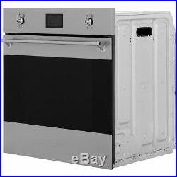 Smeg SF6390XE Classic Built In 60cm A+ Electric Single Oven Stainless Steel New