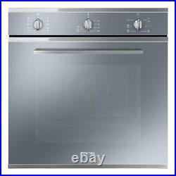 Smeg SF64M3VS Cucina Multifuction Single Oven Silver SF64M3VS