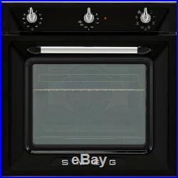 Smeg SF6905N1 Victoria Built In 60cm A Electric Single Oven Black New