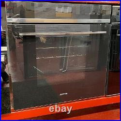 Smeg SFP6104TVN 60cm Black Built in Pyrolitic Electric Single Oven