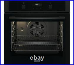 Zanussi Built In Single Electric Oven With Grill FanCook ZOCND7K1 A+ Rated-Black