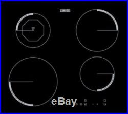 Zanussi Electric Single Oven & Ceramic Hob Built In Stainless Steel / Black