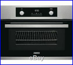 Zanussi ZKK47902XK Built In Compact Electric Single Oven Microwave A114771