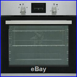 Zanussi ZOA35471XK Built In 59cm A Electric Single Oven Stainless Steel New