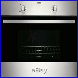 Zanussi ZOB142X Integrated Electric Single Oven in Stainless Steel