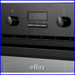 Zanussi ZOP37972BK Built In 59cm A+ Electric Single Oven Black New