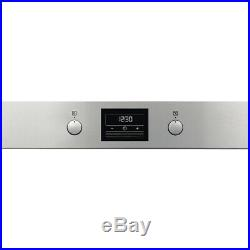 Zanussi ZOP37982XK Built In 59cm A+ Electric Single Oven Stainless Steel New