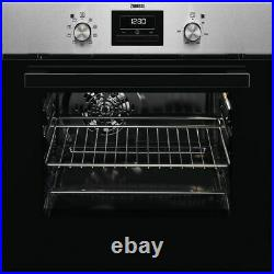 Zanussi ZZB35901XA Built In 59cm A Electric Single Oven Stainless Steel New
