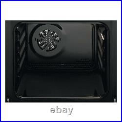 Zanussi ZZB35901XA Built-In Single Electric Oven with 60L Capacity in Steel